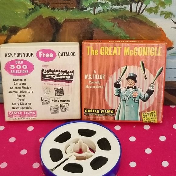 Collectible rare the great Mcgonigle  reel film